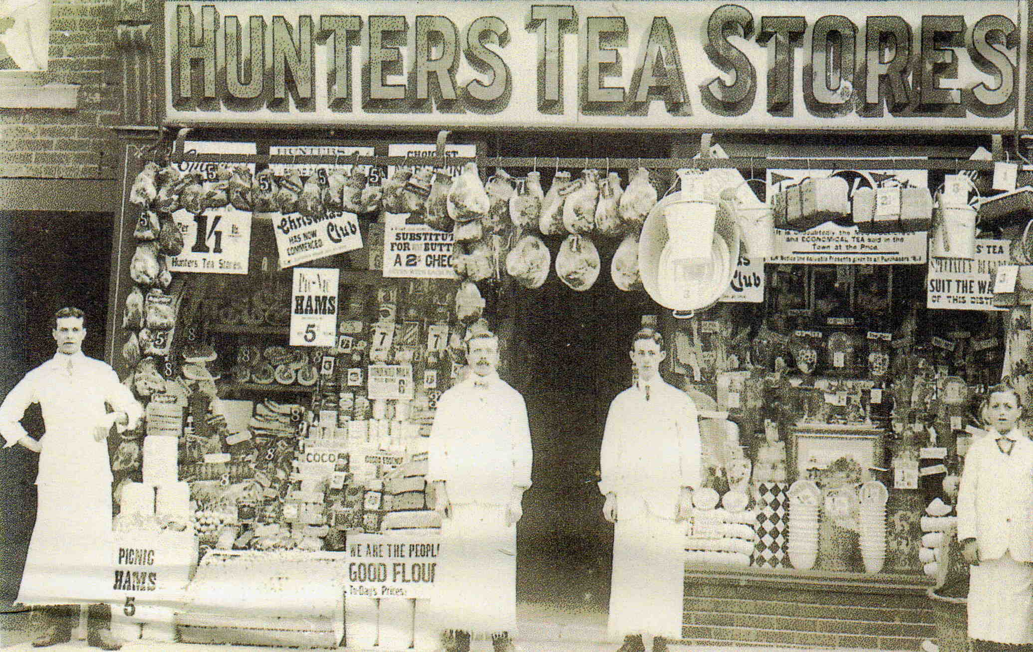 Bridge Street Stores >> Hunters Tea Stores 25 Bridge Street 1920 Later Became